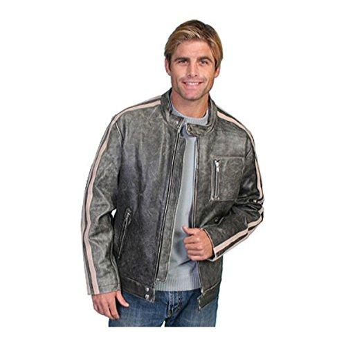 [スカーリー] メンズ ジャケット&ブルゾン Sanded Calf Racing Jacket 992 [並行輸入品] B07DJ1HK53 L