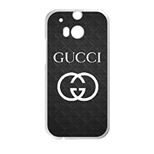 Exquisite stylish phone protection shell HTC One M8 Cell phone case for GUCCI LOGO pattern personality design