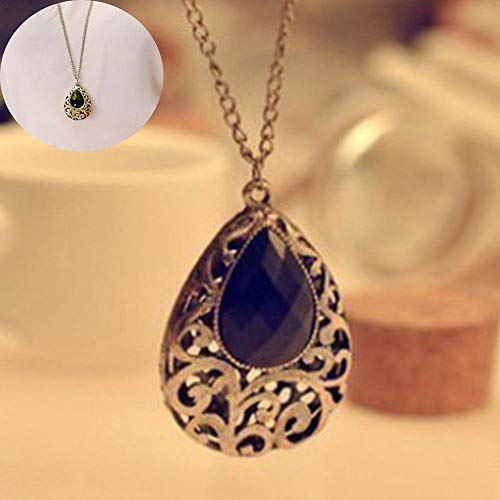 Orchid Pendant Lighting - Long Chain Charm Women Girl Necklace Pendant Sweater Chain Fashion Jewelry
