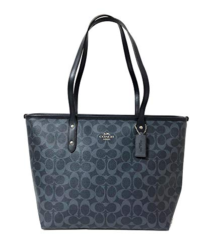 Coach Signature City Zip Tote Bag Handbag ()