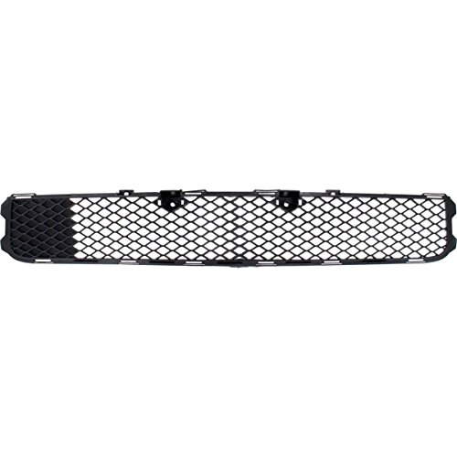 New Front Bumper Grille For 2008-2015 Mitsubishi Lancer Textured Black, Without Turbo, Except Evolution/Ralliart Models MI1036101 6400A827