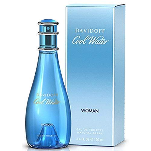 Davidoff Cool Water Woman Eau De Toilette, 3.4 oz.