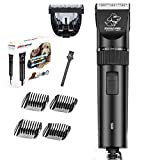 XJ Pet Grooming Hair Clippers - Professional Wired Low Noise 12v Electric Dog Beauty Hair Clipper Set Hair Trimmer Suitable for Small Medium Large Large Dogs and Cats Other Animals