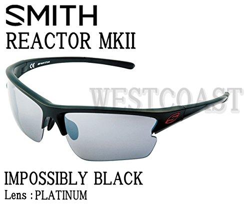 SMITH(スミス) REACTOR MK2 IMPOSSIBLY BLACK 【レンズ】PLATINUM 209000001サングラス   B00Z9HTSAM