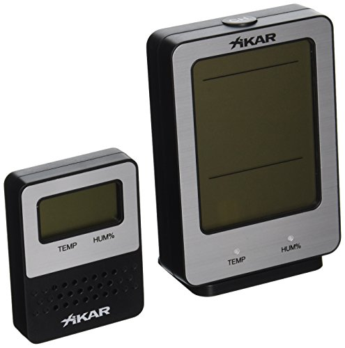 XIKAR PuroTemp Wireless Hygrometer System by The Big Easy Tobacco Accessories
