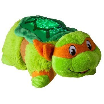 Pillow Pets Dream Lite TNT - Michelangelo (Pillow Pets Night Light Toys R Us)