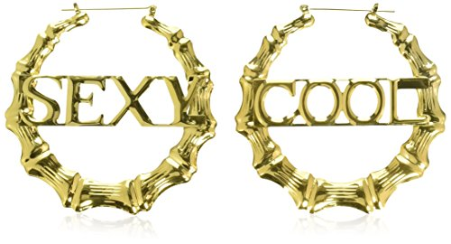 Amscan Hip Hop Bamboo Earrings - Party Accessory -