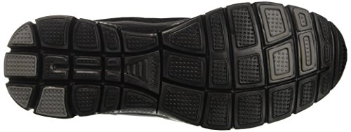 Noir Flex Noir Advantage Uomo Vert sportive Nero Scarpe Skechers PH0Cwqq