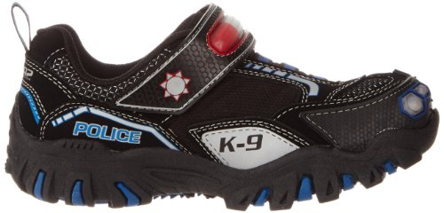 Skechers DamagerPolice II Jungen Sneakers Schwarz (Bkry)