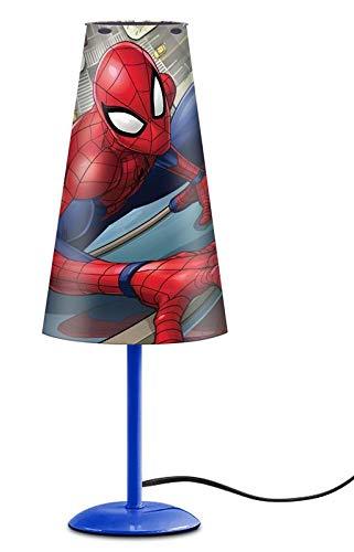 Motiv 1 Spiderman Nachttischlampe konisch Leuchte Licht Lampe