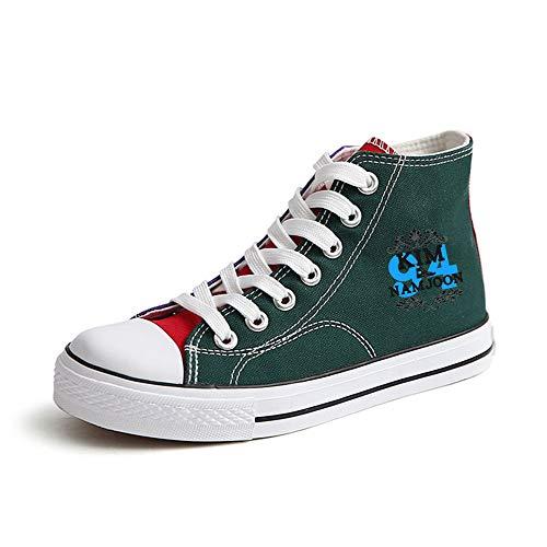 Unixsex Para Zapatillas Green40 Ligeras Cordones Parejas Con Zapatos Elásticos Casuales Bts Avanzados g0dTqg