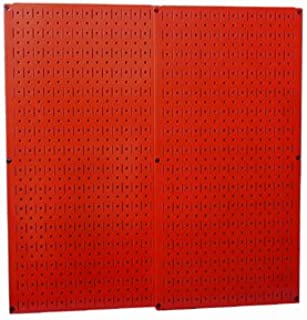 product image for Wall Control 30-P-3232R Red Metal Pegboard Pack