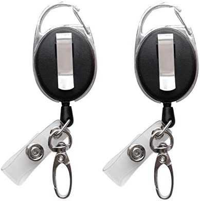 Retractable Badge Clasp Holders 2Pack product image