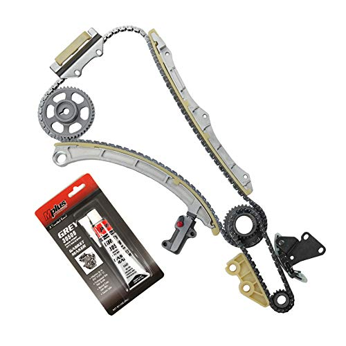MOCA Timing Chain Kit Compatible with 2003-2007 Honda Accord & 2002-2009 Honda CR-V & 2003-2011 Honda Element 2.4L L4 DOHC K24A4 K24A1