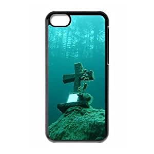 linJUN FENGProtection Cover Hard Case Of Jesus Christ Cross Cell phone Case For iphone 4/4s