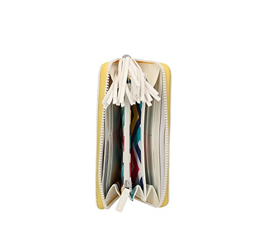 Portafoglio LIU JO EUBEA zip around N16044 E0086 (10601 WHITE)