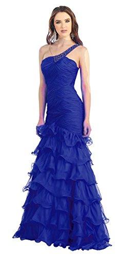 Chiffon lang Kleid Brautjungfernkleid Hochzeitsgäste Schwarz Abendkleid Abiballkleid Langgröße Ballkleid Boho OfRqFRpw