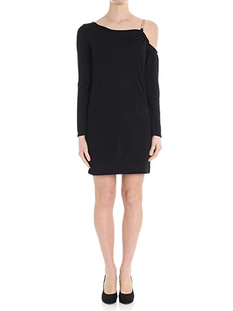 Versace Collection Mujer G35472g603172g1008 Negro Viscosa Vestido