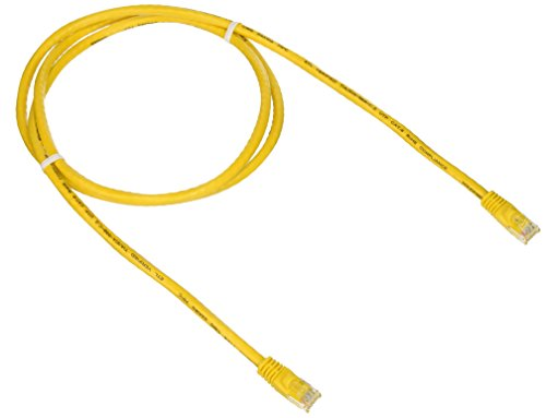 Free Monoprice 5-Feet 24AWG Cat6 550MHz UTP Ethernet Bare Copper Network Cable, Yellow