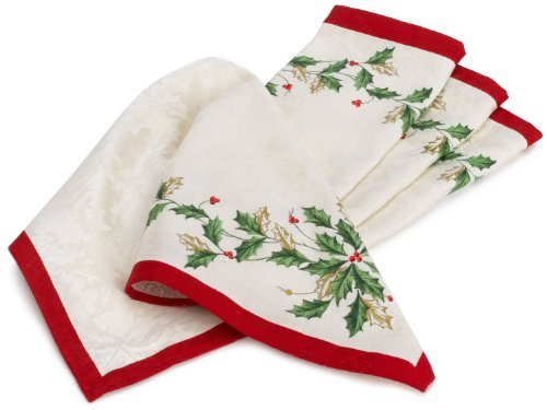 Lenox 047596209363 Lenox Holiday Napkin 4 Pack For Sale