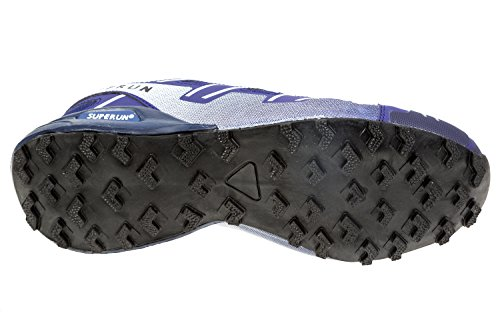 gibra - Zapatillas de running de textil/sintético para hombre azul oscuro