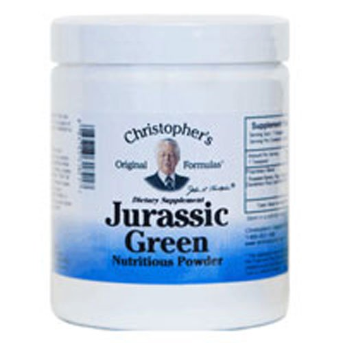 Jurassic Green Powder, 16 oz by Dr. Christophers Formulas (Pack of 3)