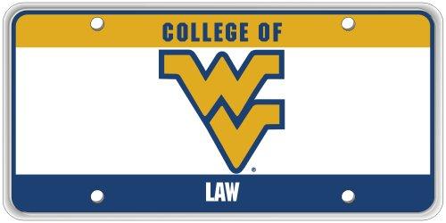 Collegiate Series WVU School Specific College of Law License Plate