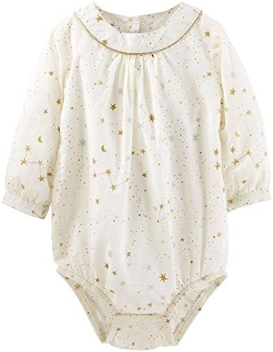 OshKosh BGosh Baby Girls' Woven Bodysuit 11423810, Print,...
