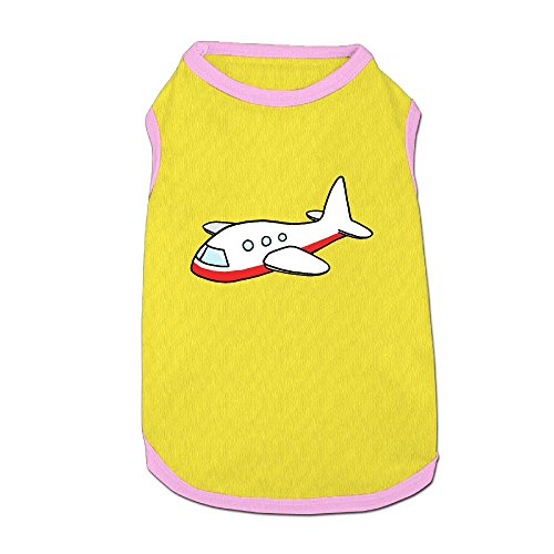 76f19cf984c5f26e856c1a607f9b97ca Airplane-clipart-627-free-clipart-images-clipartwork-airplane-clipart-png 4000-3000 Puppy Dogs Shirts Costume Pets Clothing Warm Vest T-shirt Small