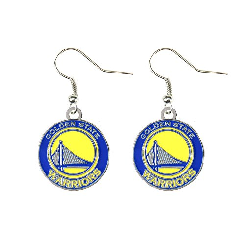 NBA Golden State Warriors Logo Dangler Earrings