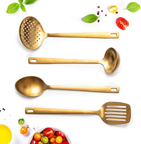 Matte Serving Utensils Stainless include