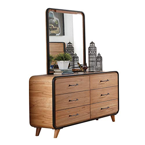 ACME Furniture  Carla Dresser, Oak/Black