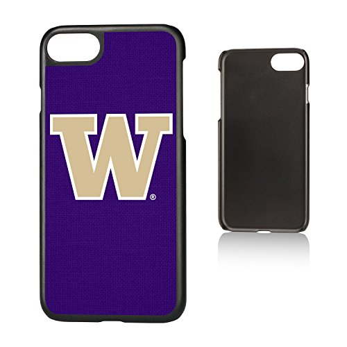 (Keyscaper KSLMI7-0WAS-SOLID1 Washington Huskies iPhone 8/7 Slim Case with UW Solid Design)