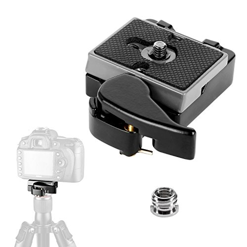 pangshi Camera Quick Release Plate 323 RC2 with Special Adapter 200PL-14 QR Plate by pangshi