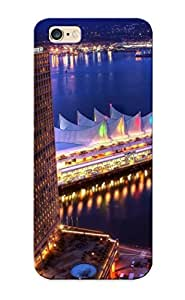 Premium Durable Cityscapes Buildings Cities Fashion Tpu Iphone 6 Plus Protective Case Cover