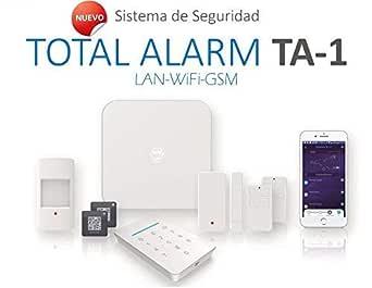 Kit de Alarma SIN cuotas Domótica TA-1 (WiFi + LAN + GSM