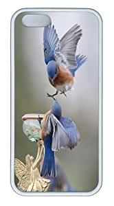 The Bird Bath Custom iPhone 5s/5 Case Cover TPU White Christmas gift