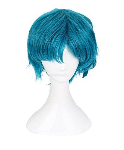 Xingwang Queen Anime Mizuno Ami Cosplay Wig Women Girls Party Wigs with Free Cap