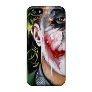 EOVE GQS3855jLvY Case Cover Skin For Iphone 5/5s (joker)