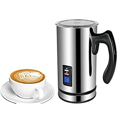 Generic Stainless Steel Milk Foam Machine Coffee Machine Electric Milk  Frother Foamer Milk Warmer Foam Latte Cappuccino Bubble Coffee Maker - 220V  Eu Plug: Amazon.in: Home & Kitchen