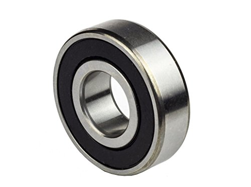 One (1) 6205-2RS Sealed Bearing 25x52x15 Ball Bearing / Pre-Lubricated