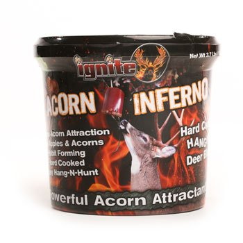 Ignite The Hunt Acorn Inferno Attractant, 3.75lb Hanging Block (4 Pack)
