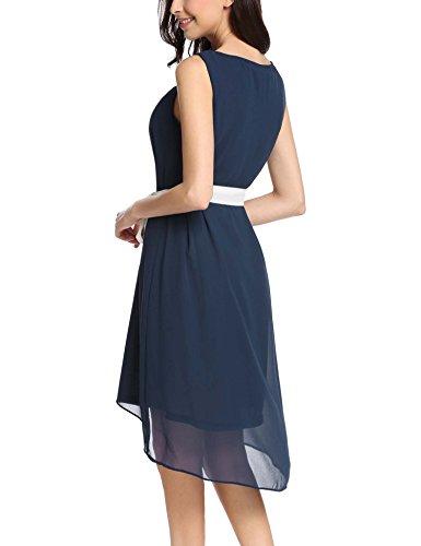 Kleid schwarz mit weib