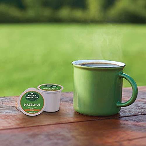 Green Mountain Coffee Roasters Hazelnut Decaf Keurig Single-Serve K-Cup Pods, Light Roast Coffee, 72 Count (6 Boxes of 12 Pods) by Green Mountain Coffee Roasters (Image #7)