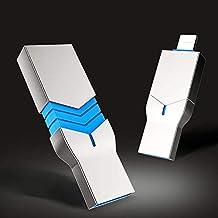 JTY Unidades Flash, 2 en 1 Almacenamiento Externo Memory Stick expansión de Salto de la Unidad Compatible con teléfonos Android Tipo C Dispositivos y PC,128g
