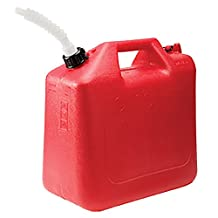 Wedco 81062 Gas Can, 25 Liter, Red