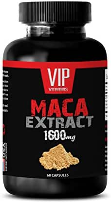 Female libido Enhancement - MACA Extract 1600MG - maca Boost Powder - 1 Bottle (60 Capsules)