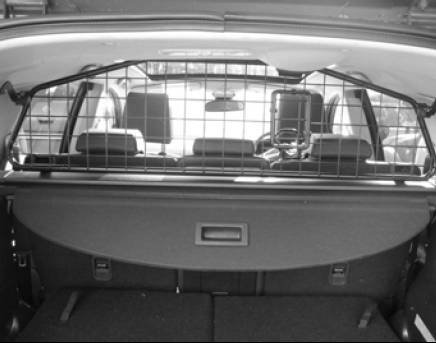 Genuine Nissan QASHQAI +2 DOG GUARD   PARTITION RACK Removable With Sunroof