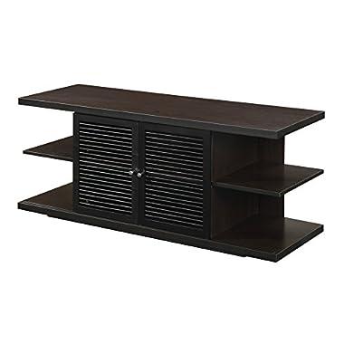 Convenience Concepts Designs2Go East Hampton TV Stand, Espresso Black