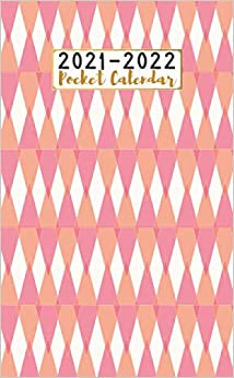 Pocket Calendar 2021-2022: Two-Year Monthly Pocket Planner | Small Size with Phone Book, Password Log and Notebook | Pretty 24 Months Agenda, Diary, ... ... Pretty Polygons ( planner 2021-2022 )